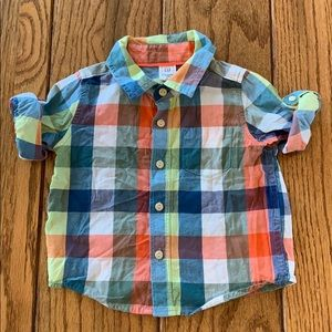 Long-sleeve button-up from Baby Gap